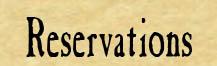 Reservationsbanner